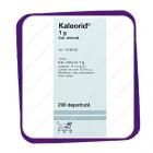 Kaleorid (Калеорид) - 1g - 200 depottabl.