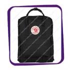 Kanken Fjallraven (Канкен Фьялравен) 16L оригинальный чёрный Black рюкзак