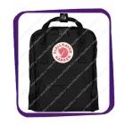 Fjallraven Kanken Mini (Фьялравен Канкен Мини) 7L оригинальный чёрный рюкзак