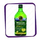 Moller Omega3 - рыбий жир c лимоном 0,5L