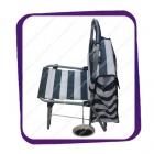 Тележка стул с сумкой зеленая