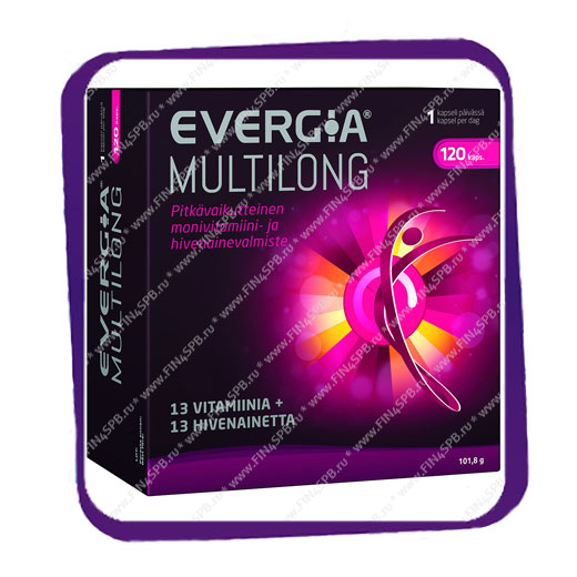 фото: Evergia Multilong (комплекс с рутином) капсулы - 120 шт