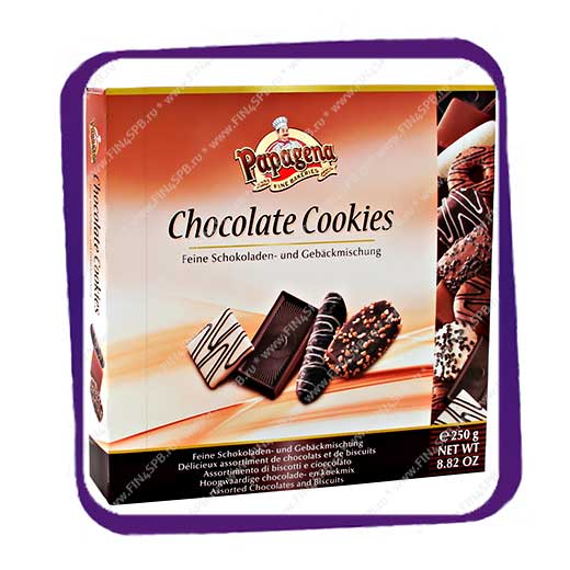 фото: Papagena - Chocolate Cookies - Assorted Chocolates and Biscuits 250g