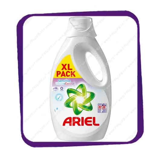 фото: Ariel Sensitive white & colour 1,82L