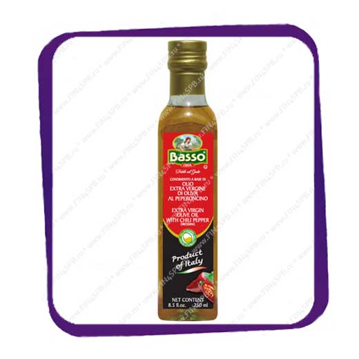 фото: BASSO - Extra Virgin Olive Oil with Chili Pepper