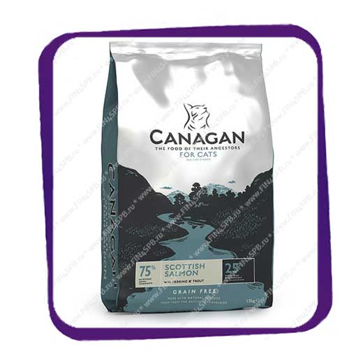 фото: Canagan - Scottish Salmon - For Cats - 375gr