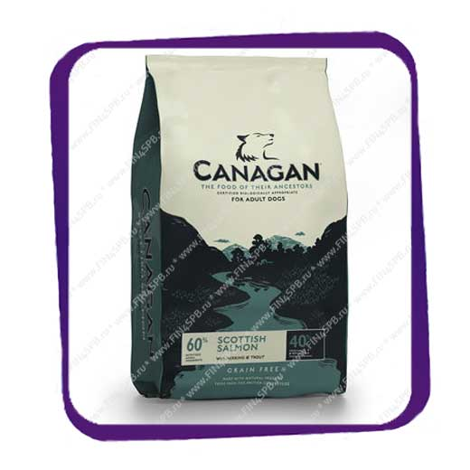 фото: Canagan - Scottish Salmon - For Adult Dogs - 12kg
