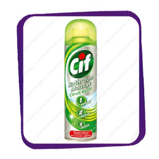 фото: Cif - Bathroom Mousse Citrus
