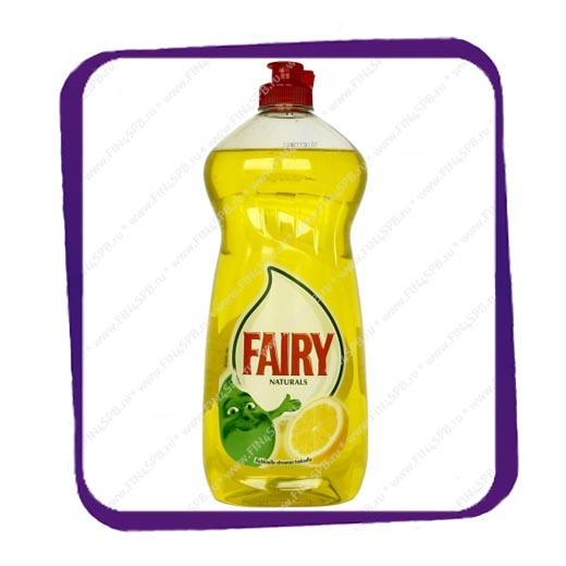 фото: Fairy Naturals 750 ml. Lemon