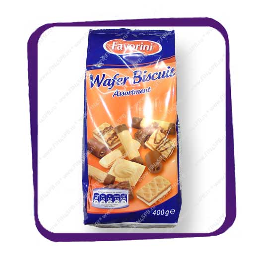 фото: Favorini - Wafer Biscuit - Assortment 400g