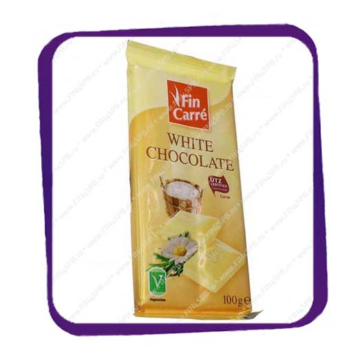 фото: Fin Carre White Chocolate 100gr