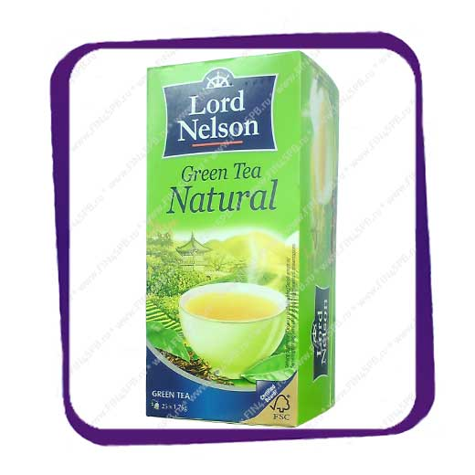 фото: Lord Nelson - Green Tea - Natural 25tb