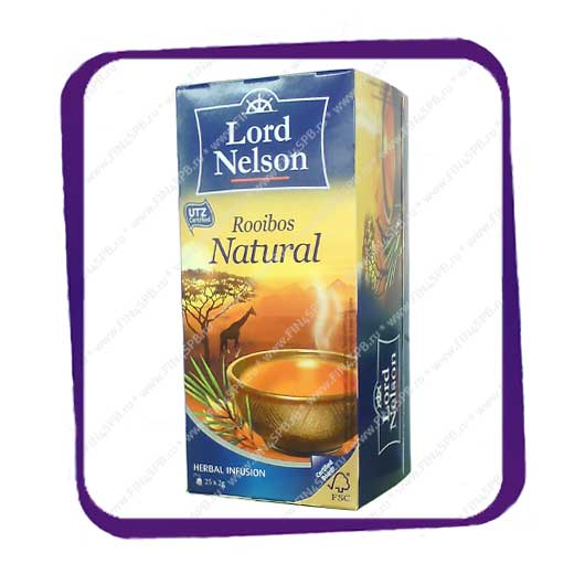 фото: Lord Nelson - Rooibos - Natural 25tb