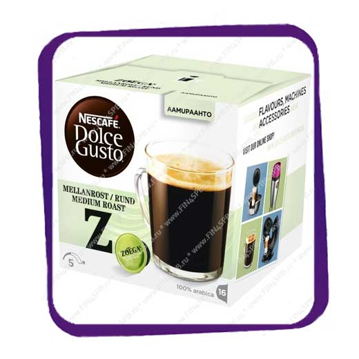 фото: Dolce Gusto Zoegas Mellanrost Rund Medium Roast 16 caps