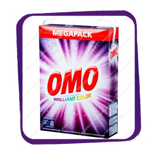 фото: OMO - Brilliant Color - Megapack 4,9 kg - 70 wash - для цветного белья