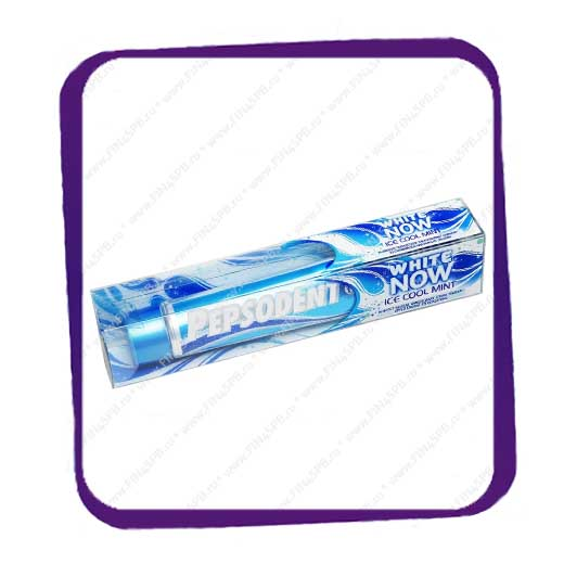 фото: Pepsodent White Now Ice Cool Mint