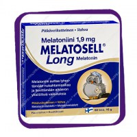 Melatosell Long Melatonin 1,9 mg (Мелатоселл Лонг Мелатонин 1,9 мг - для сна) таблетки - 60 шт