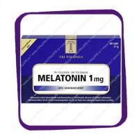 Tri Tolonen Melatonin 1 mg (Три Толонен Мелатонин 1 мг) таблетки - 60 шт