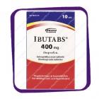 Ibutabs 400 Mg (Ибутабс 400 Мг) таблетки - 10 шт.