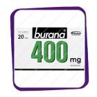 Burana 400 mg (Бурана 400 мг) таблетки - 20 шт