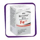 Retafer 50 Mg Fe++ (Ретафер 50 Мг Фе++) таблетки - 100 шт