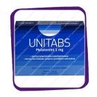 Unitabs Melatoniini 1mg (Юнитабс Мелатонин 1мг) таблетки - 30 шт