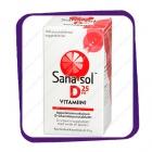 Sana-Sol D3-Vitamiini 25 Mkg (Сана-Сол Д3-Витамин 25 Мкг) таблетки - 100 шт
