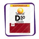 Sana-Sol D-Vitamiini 50 Mkg (Сана-Сол Д-Витамин 50 Мкг) таблетки - 300 шт