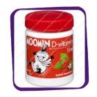 Moomin D-vitamin Strawberry 10 mg (Витамин Д Мумин Клубника 10 мг.) таблетки - 100 шт