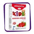 Monivita Kids Mansikka-Vadelma Monivitamiini (Монивита Кидс Мультивитамины  с клубникой и малиной) жевательные таблетки - 90 шт