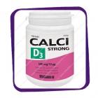 Calci Strong D3 500 mg/10mg (Кальций Стронг Д3) таблетки - 150 шт
