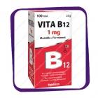Vitabalns Vita B12 1 mg (Витабаланс Вита Б12 1 мг) таблетки - 100 шт