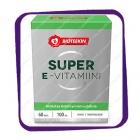 Bioteekin Super E-vitamiini (Биотеекин Супер-Е 100 мг) капсулы - 60 шт