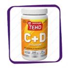 Bioteekin Teho C+D (Биотеекин Техо С+Д 200 мг / 20 мг) жевательные таблетки - 80 шт