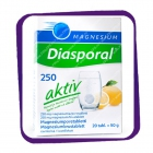Diasporal Magnesium Aktiv 250 mg (Диаспорал Магнезиум Актив 250 мг) шипучие таблетки - 20 шт