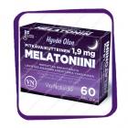 Hyvan Olon Melatoniini 1,9 mg (Снотворное с Мелатонином) таблетки - 60 шт