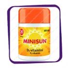 Minisun D3 Vitamin 20 mikrog (Минисан витамин Д3 20 мкг) таблетки - 100 шт