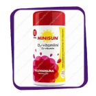 Minisun Villivadelma D3-vitamiini 10 mikrog (Минисан витамин D3 10 мкг - вкус дикая малина) жевательные таблетки - 200 шт