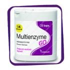 Multienzyme GO (Мультиэнзим ГО - мультиэнзимный препарат) капсулы - 25 шт