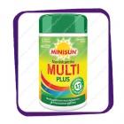 Minisun Monivitamiini Multi Plus (Минисан Мульти Плюс - поливитамины) таблетки - 200 шт