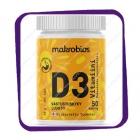 Makrobios D3 vitamiini 50 mikrog (Макробиос Д3 Витамиини 50 микрог) таблетки - 150 шт