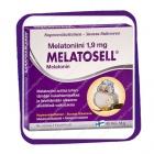Melatosell Melatonin 1.9 mg (Мелатоселл Мелатонин 1.9 мг - для сна) таблетки - 60 шт