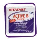 Vitatabs Active B Natural (Витамины группы B в натуральной активной форме) таблетки - 60 шт
