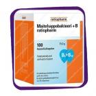 Ratiopharm Maitohappobakteeri +B (кисломолочные бактерии +B) капсулы - 100 шт