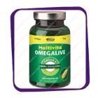 Multivita Omegalive Omega-3 (Рыбий жир Омега-3) капсулы - 120 шт