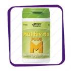 Multivita Plus M (Мультивита плюс М - мультивитамины для пожилых) таблетки - 100 шт
