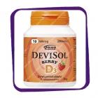 Devisol Berry D3 10 mikrog (Девисол Берри D3 10 мкг) жевательные таблетки - 200 шт