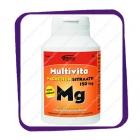 Multivita Magnesiumsitraatti 150 Mg (Мультивита цитрат магния - вкус грейпфрут) жевательные таблетки - 90 шт
