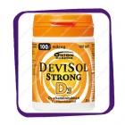 Devisol Strong D3 100 Mikrog (Девисол Стронг Д3 100 мкг) жевательные таблетки - 100 шт
