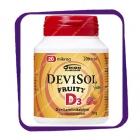 Devisol Fruity D3 20 Mkg (Девисол Фрутти D3 20 мкг) жевательные таблетки - 200 шт